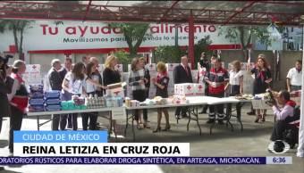 La reina Letizia de España realiza visita en la CDMX