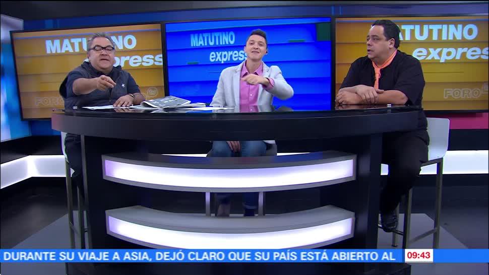 Matutino Express del 14 de noviembre con Esteban Arce (Bloque 2)