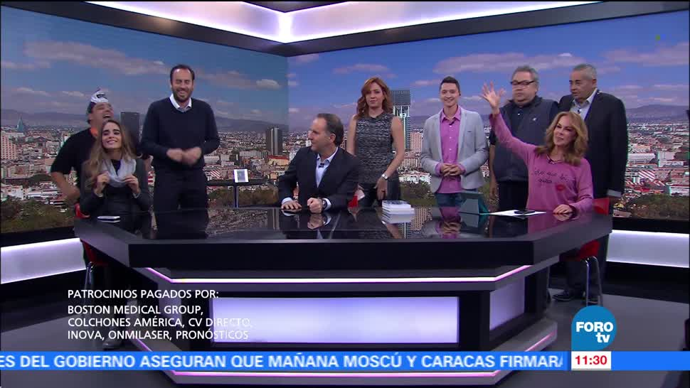 Matutino Express del 14 de noviembre con Esteban Arce (Bloque 3)