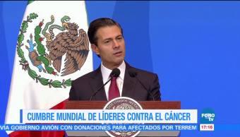 Enp Inaugura Cumbre Líderes Contra Cáncer Instalaciones