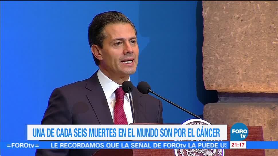 EPN encabeza Cumbre Mundial de Líderes contra el Cáncer