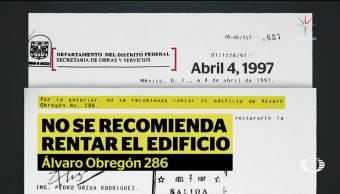 Padre de víctima demandará a dueño de Álvaro Obregón 286