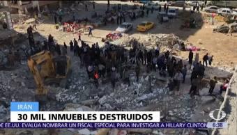 Presidente de Irán visita zona devastada por terremoto