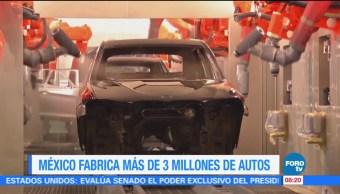 Extra, Extra: México produce más de 3 millones de autos