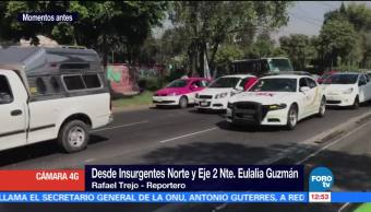 Automovilista denuncia abuso de policías en operativo sobre Insurgentes Norte
