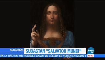 Subastan un Da Vinci en 450 mdd