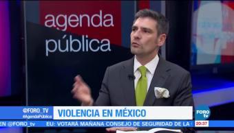 Crece la violencia en México
