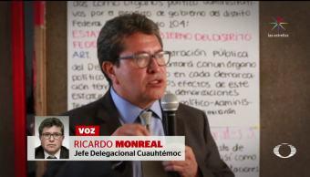 Ricardo Monreal podría ser destituido por la SCJN