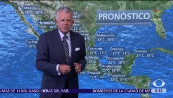 Despierta con Tiempo: Bajas temperaturas en zonas montañosas de 20 entidades