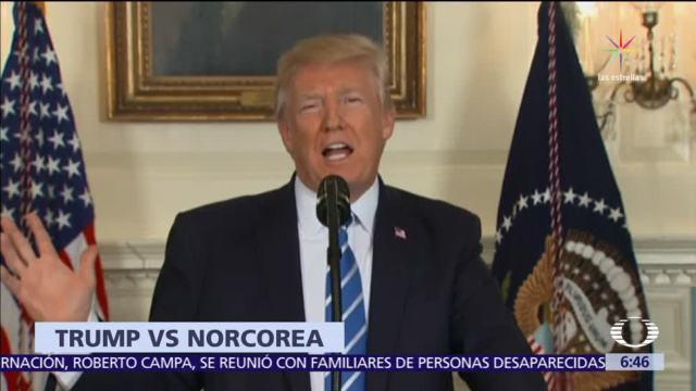 Trump pidió a Rusia y China aislar a Corea del Norte