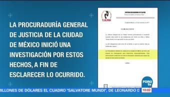 Jefatura delegacional en Tlalpan lamenta muerte de menor