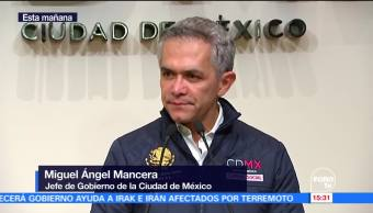 Mancera afirma estar listo para ir con el Frente Ciudadano
