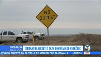 Cierran oleoducto Keystone por fuga de petróleo