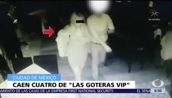 Detienen a 4 integrantes de la banda 'Las Goteras VIP'