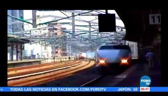 Línea de trenes Tokio se disculpa por salir antes de tiempo