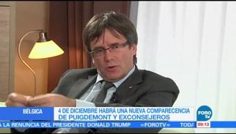 Tribunal belga cita a Carles Puigdemont el 4 de diciembre