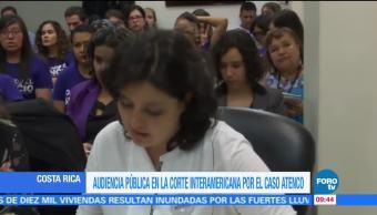 Corte Interamericana de Derechos Humanos realiza audiencia pública por caso Atenco