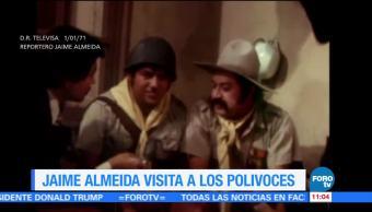 Noticiero del pasado: El periodista Jaime Almeida platica con Los Polivoces