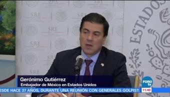 Gerónimo Gutiérrez, en desacuerdo con revisión del TLCAN cada cinco años