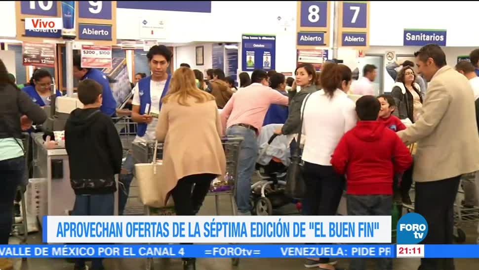 Capitalinos aprovechan ofertas de El Buen Fin