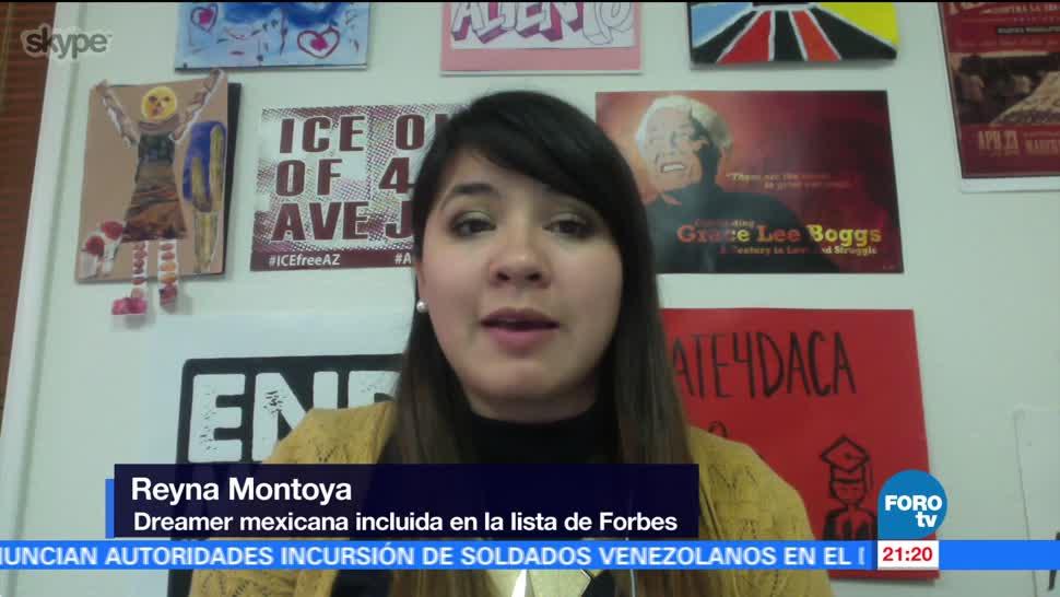 Forbes destaca el trabajo de dreamer mexicana