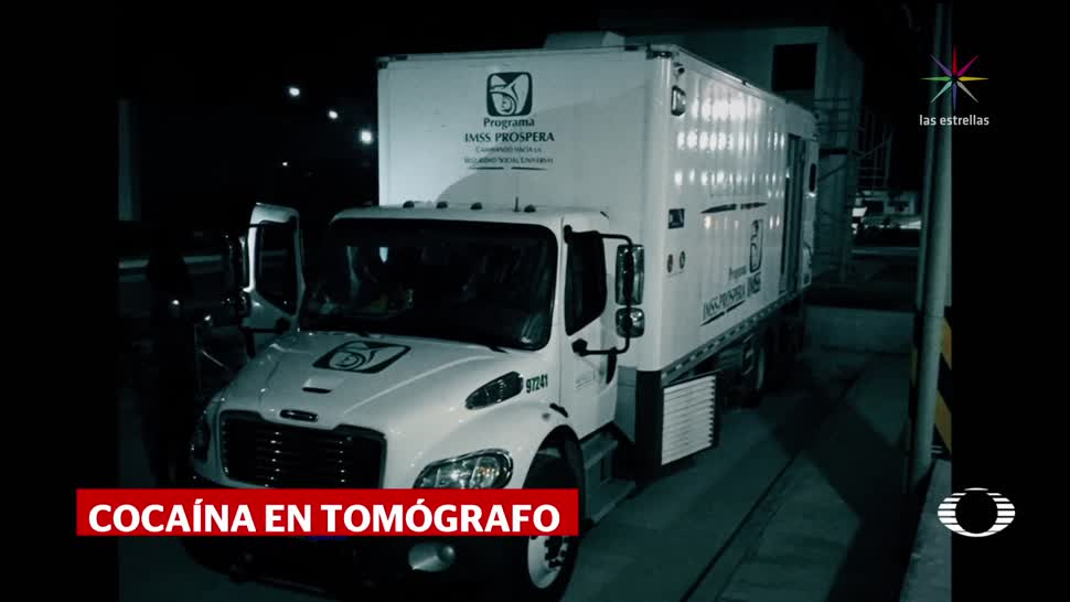 Aseguran 371 kgs de coca en presunto vehículo del IMSS