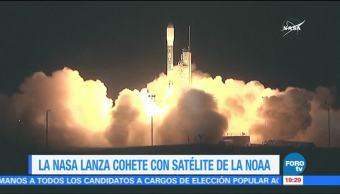 NASA lanza al espacio satélite para monitorear el clima