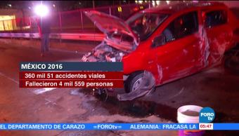 Accidentes de tránsito son la principal causa de muerte entre jóvenes