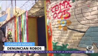 Se registran 8 robos en jardín de niños afectado tras sismo 19S