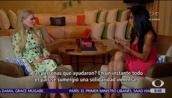 Nicole Kidman en Al Aire con Paola Rojas