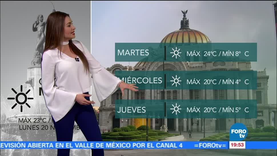 El clima con... Mayte Carranco del 20 de noviembre
