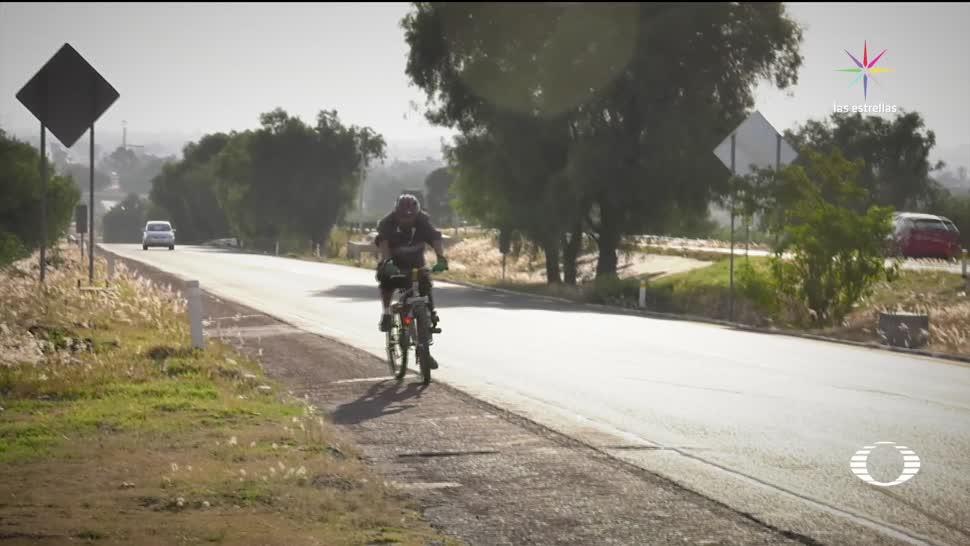 Pirámides-Tulancingo, una ruta peligrosa para ciclistas