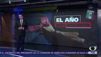 2017, el año con mayor inseguridad en México