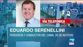 Sigue búsqueda de submarino argentino con 44 tripulantes