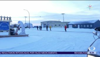 Familia rarámuri arrasa en el Maratón de Canadá