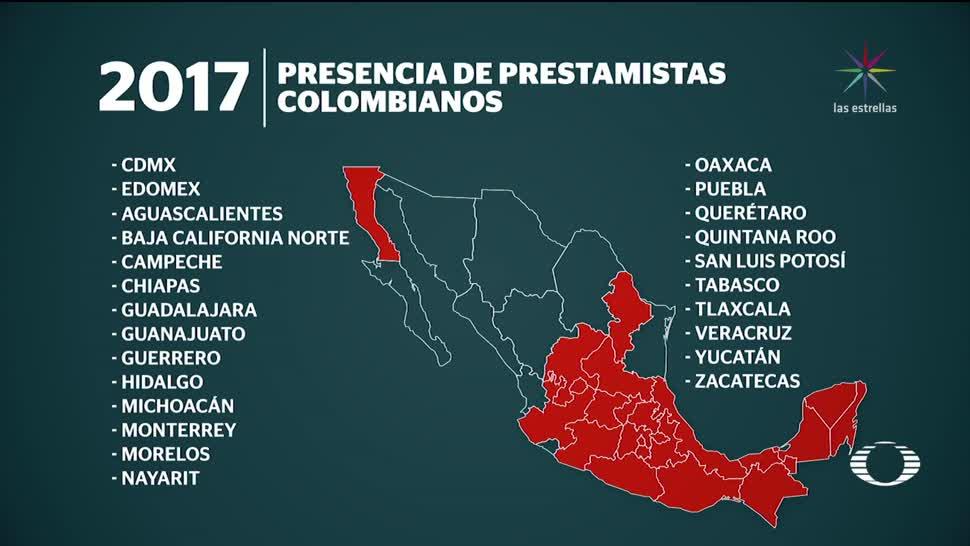 Así opera en México la red colombiana de préstamos 'gota a gota'