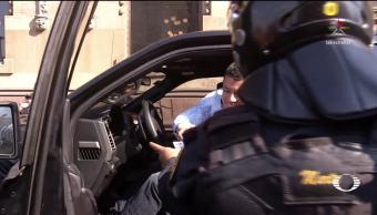 Aunque intentó 'charolear', infraccionan al jefe del sindicato de bomberos