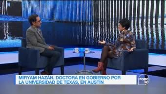 Genaro Lozano entrevista a Miryam Hazán