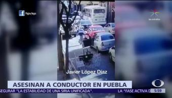 Por conflicto de tránsito, asesinan a conductor en Puebla