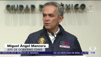 Mancera propone exámenes de control de confianza para candidato presidencial del Frente
