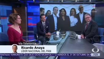 Ricardo Anaya expone en Despierta la agenda del Frente Ciudadano por México