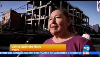 Disputa por predio abandonado en la delegación Gustavo A. Madero