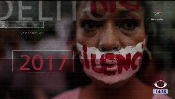 Aumentan los índices de violencia criminal en México