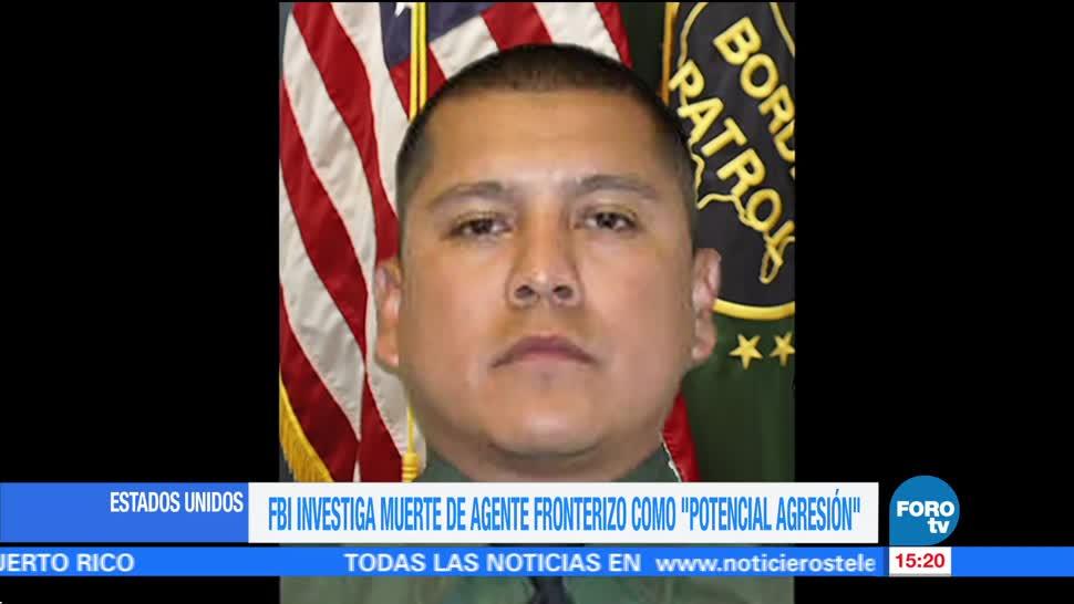 FBI investiga muerte de agente fronterizo en Texas