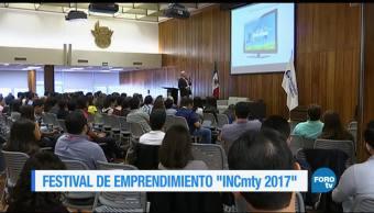 Los detalles del festival de emprendimiento INCmty 2017.