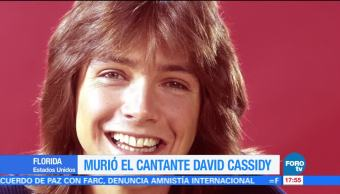 Muere el actor y cantante David Cassidy