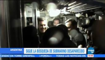 Armada Argentina investiga posible pista del submarino perdido