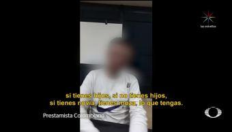 INM tiene detectados a integrantes de red colombiana de prestamistas