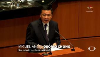 Osorio Chong reconoce compleja situación de seguridad en México