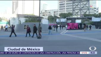 Entregan rehabilitada la Glorieta de Insurgentes, CDMX